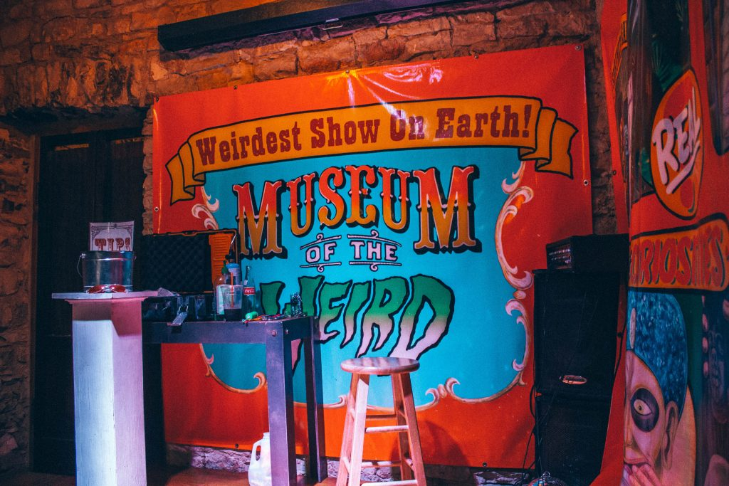 weird things to do in austin