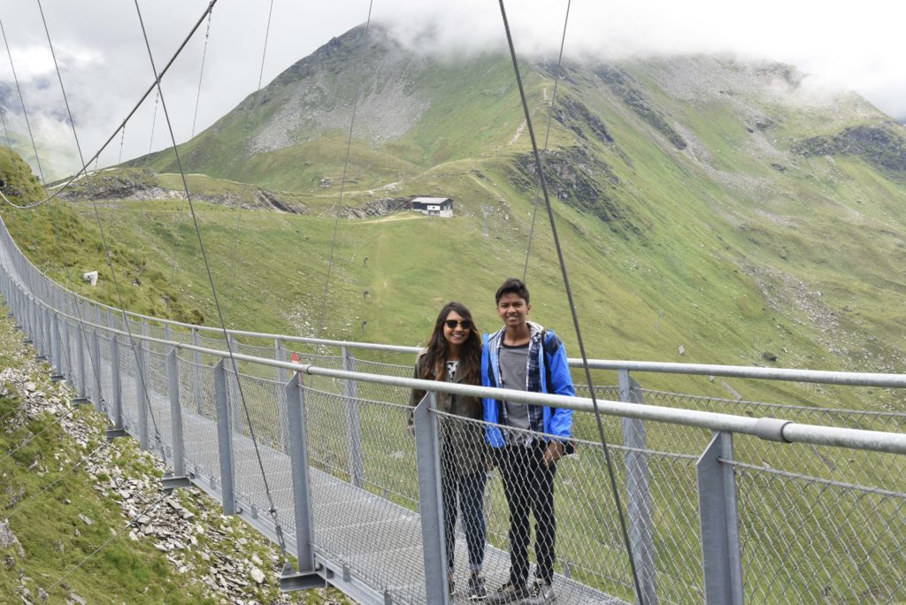 best pedestrian suspension bridges
