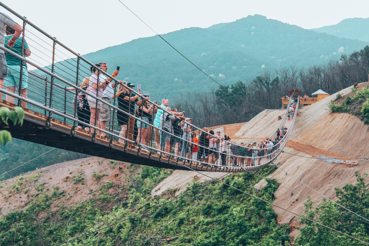 best pedestrian suspension bridges