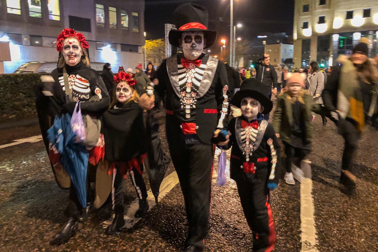 halloween in derry northern ireland