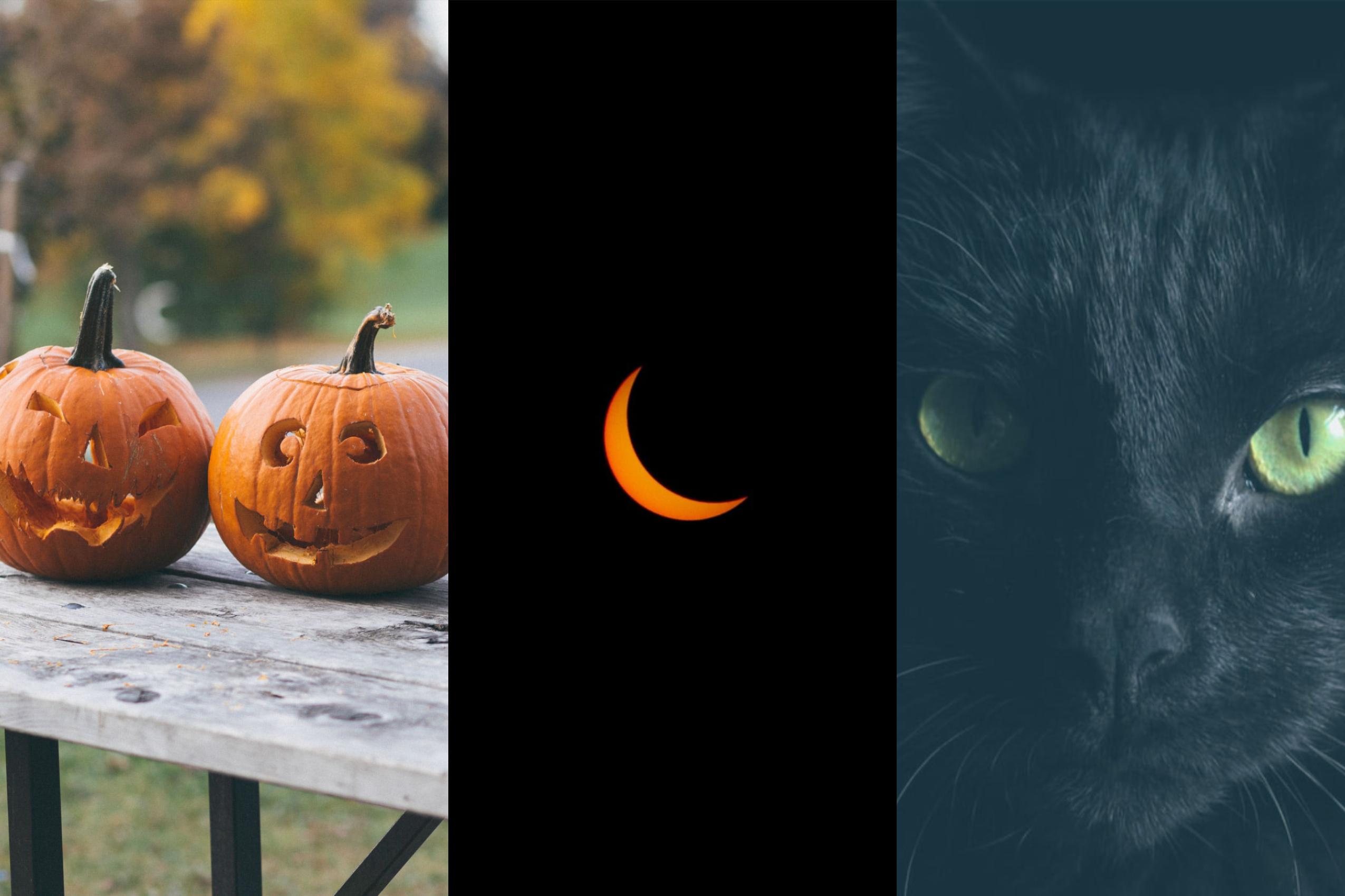 best halloween towns