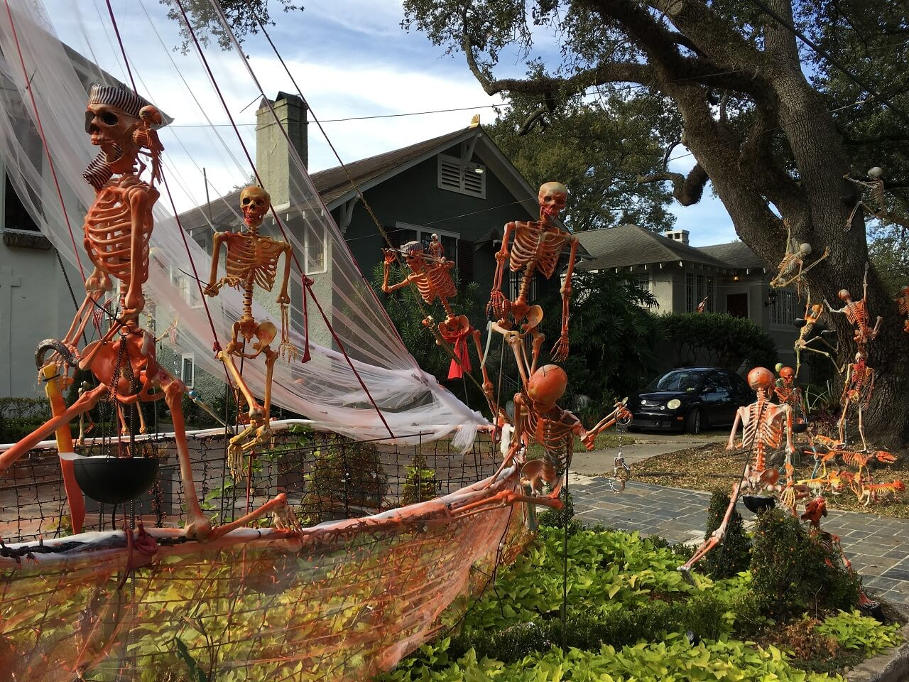 best halloween towns | new orleans
