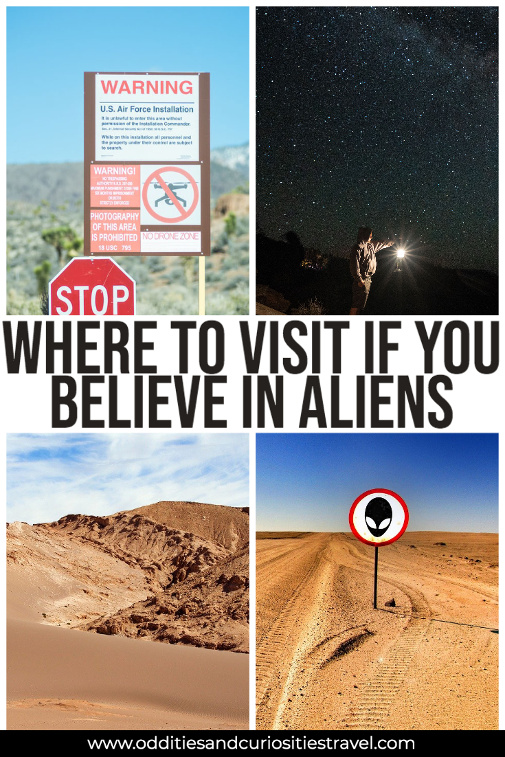 places to see aliens