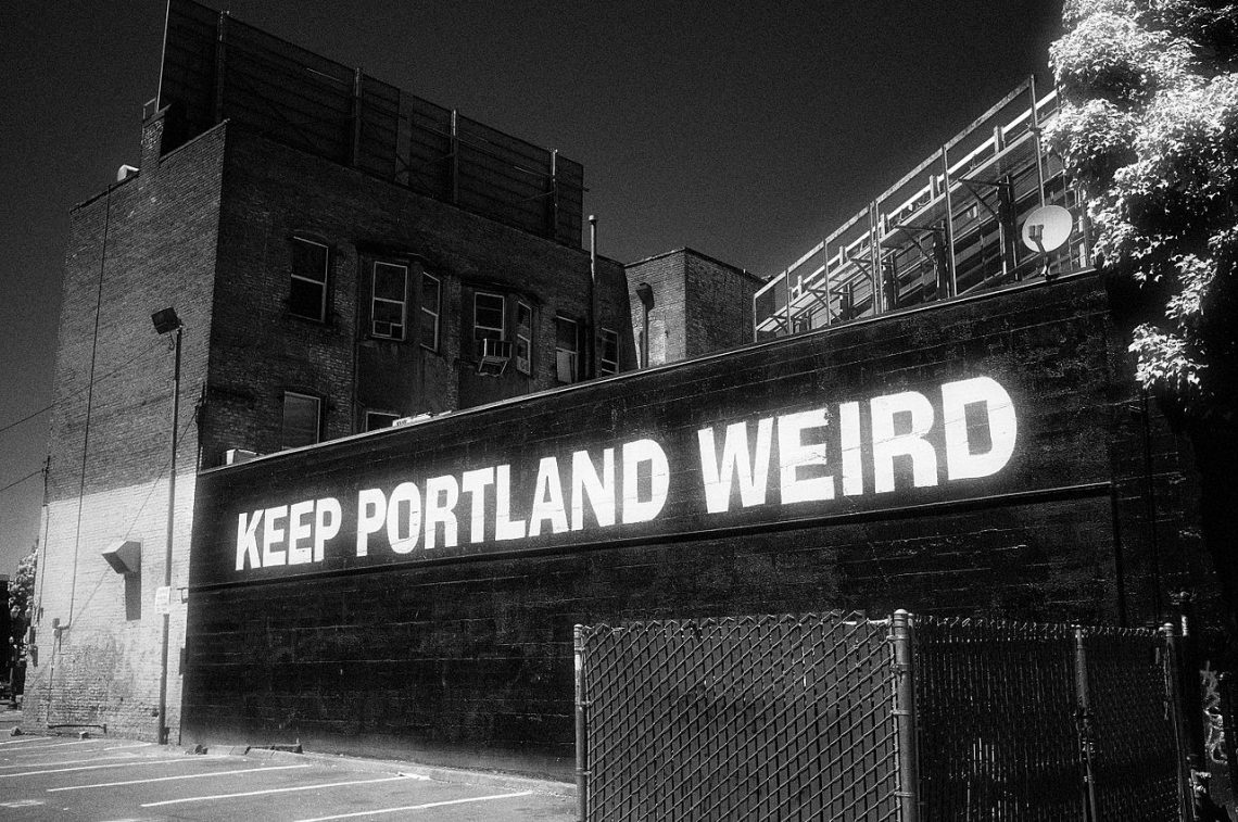 weird things to do in portland